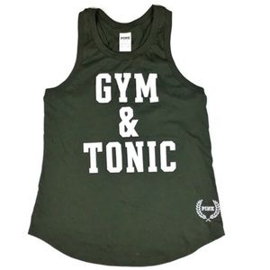 PINK Victoria's Secret Gym & Tonic Muscle Tee